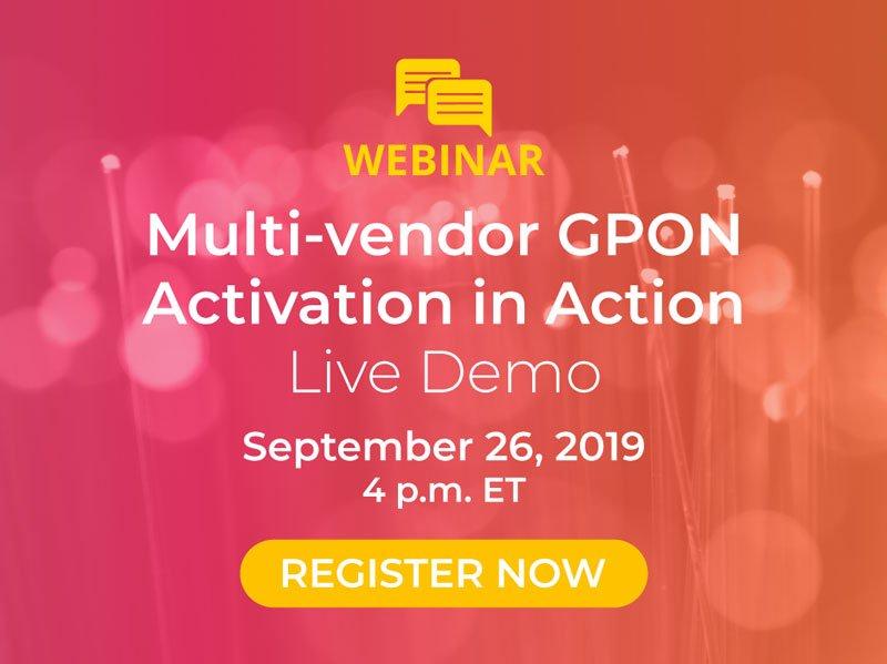 Gpon Activation in Action Webinar Popup